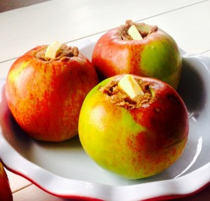 Yummy baked apples