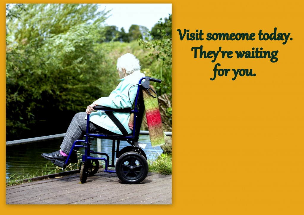 Visit someone in a nursing home