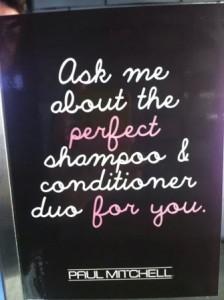 perfect shampoo