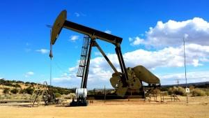 oil rig landscape