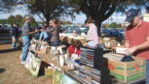 Flea market (image: wral.com)