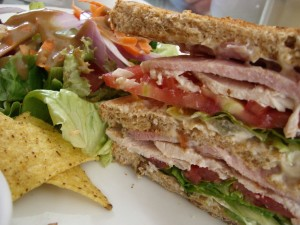 Club sandwich (Wiki photo)