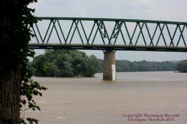Thoughts on the Ohio River in Marietta Ohio