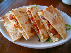Toasted quesadilla. Photo by flickr.