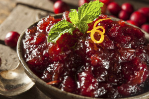 Yes! Cranberry sauce is delicious with these recipes!