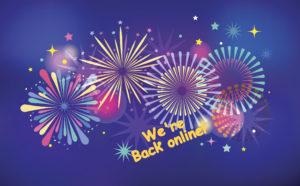 We're Back Online!!!