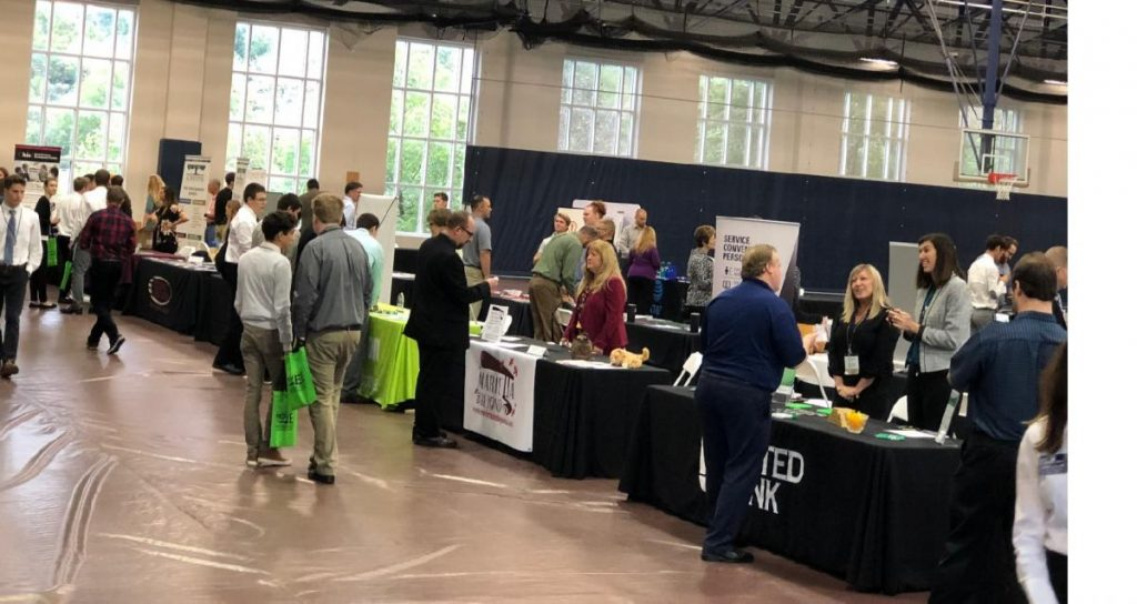 Networking at MOVEE, come this year on September 26, 2019, Mid Ohio Valley Entrepreneurial Expo